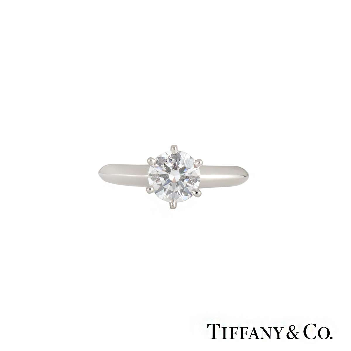 g cut co round brilliant ring logo tiffany diamond engagement platinum products